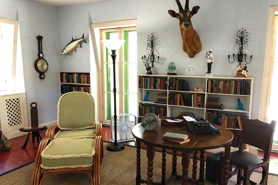 Ernest Hemingway's Key West writing studio