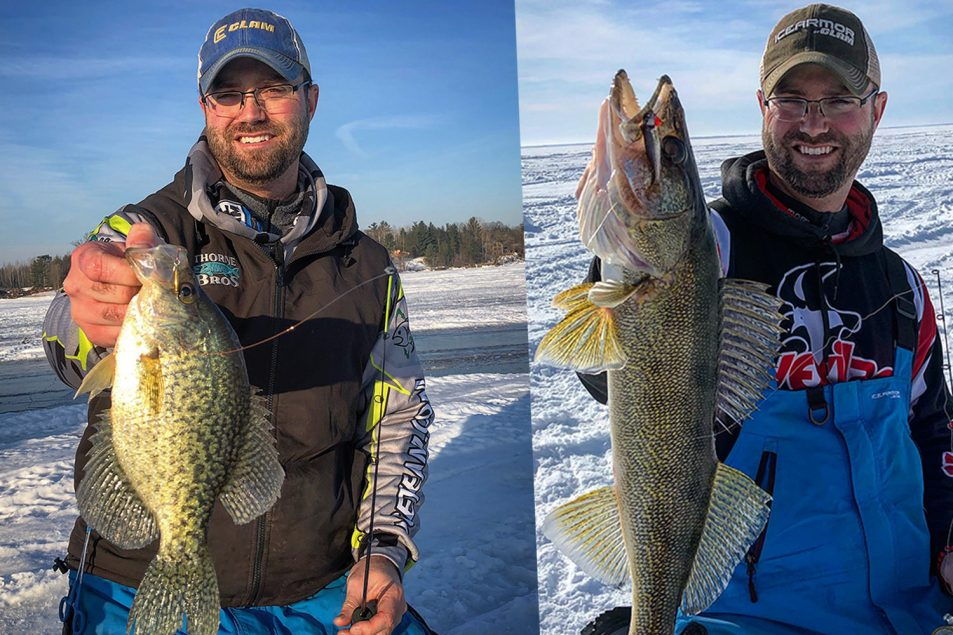 Your best ice-fishing season ever on MidWest Outdoors Podcast, with Matt Johnson of Clam and Ice Team